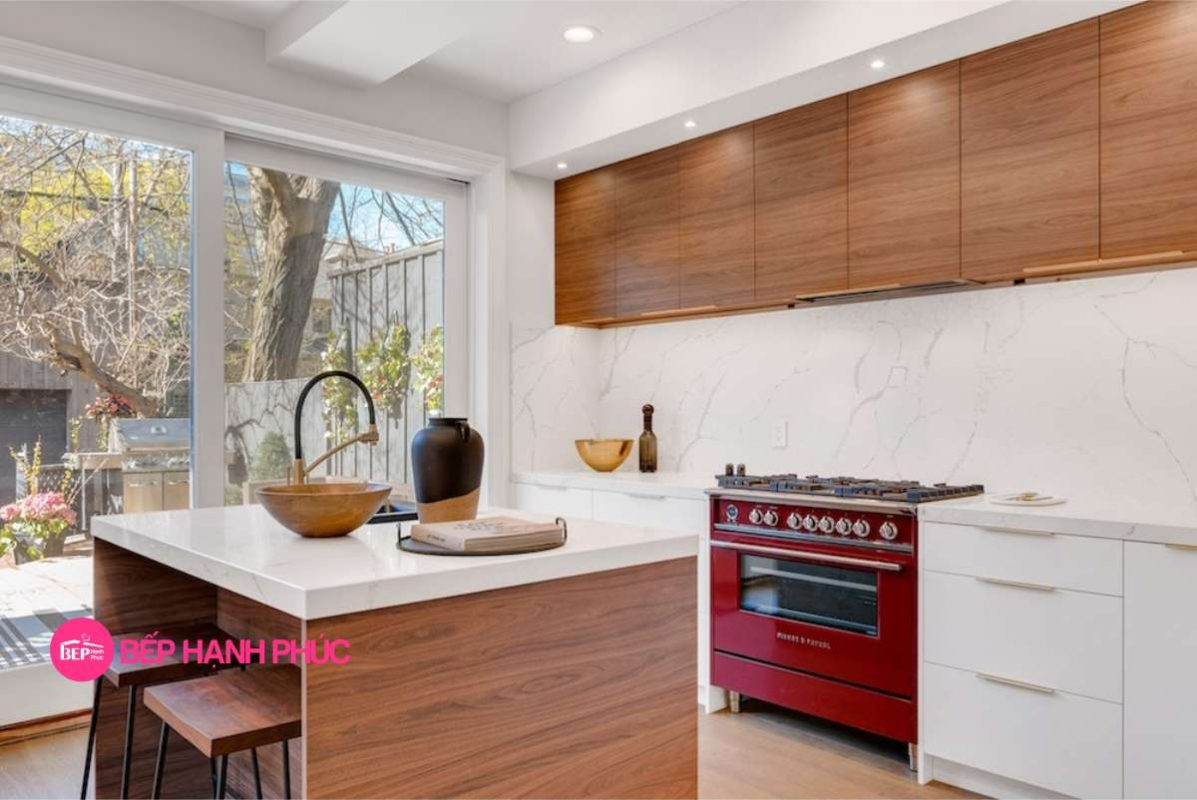 Top 5 Mẫu Kệ tủ bếp 1 tầng đẹp tốt Modern Style