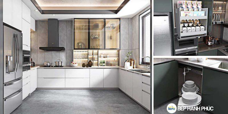 Top 5 mẫu Kệ tủ bếp Acrylic bền đẹp