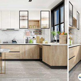 Top 5 mẫu Kệ tủ bếp nhà phố đẹp tốt