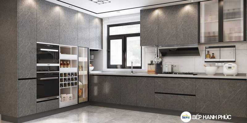 Top 5 mẫu kệ tủ bếp vip đắt tiền đẹp tốt