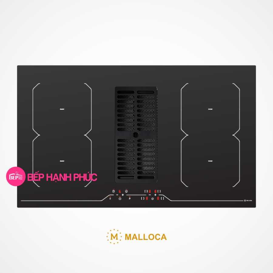 Bếp từ Malloca HIH-864 kết hợp máy hút mùi âm 86cm