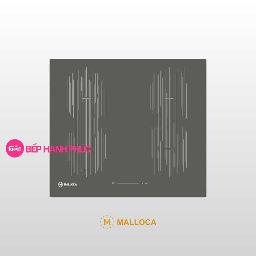 Bếp từ Malloca MI 594 LINEAR - 4 từ vuông 59cm mặt kính Schott