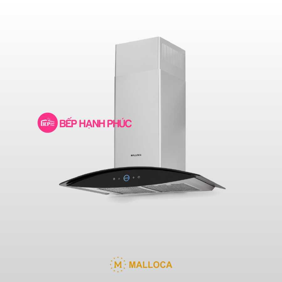 Máy hút mùi Malloca MC-7018HS - Áp tường 70cm tum kính cảm ứng