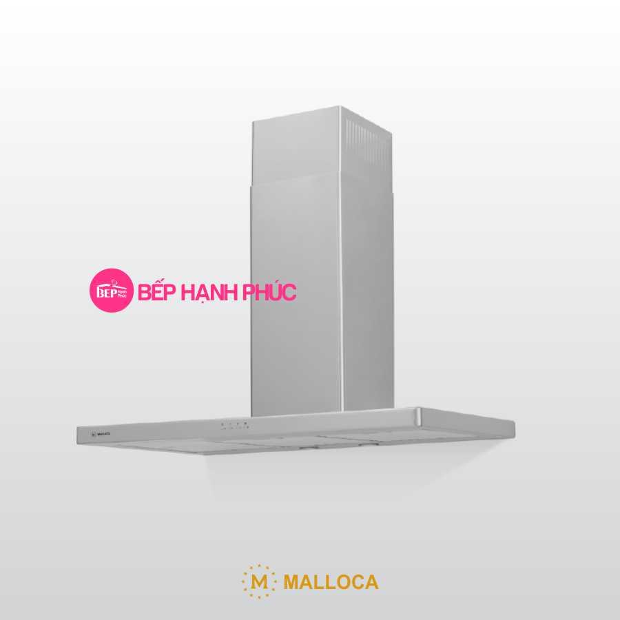 Máy hút mùi Malloca THETA K1520 - Áp tường 90cm chữ T thân inox