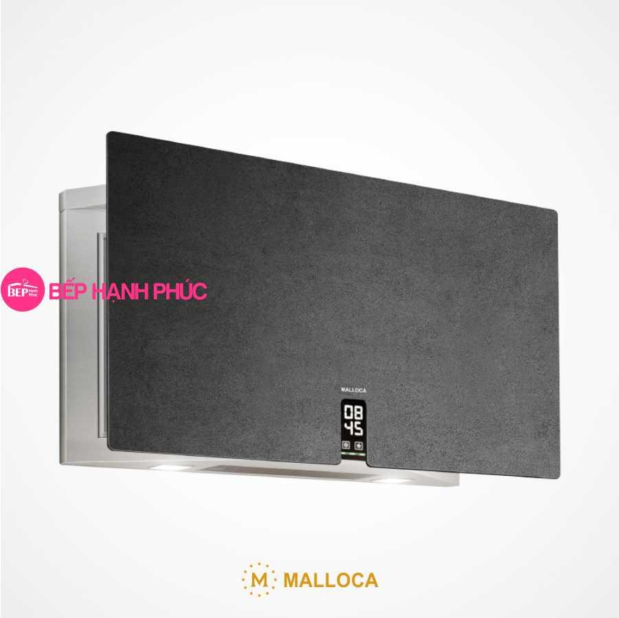 Máy hút mùi Malloca TIME K-16 NERO - Áp tường 90cm Ceramic màu sắt gỉ