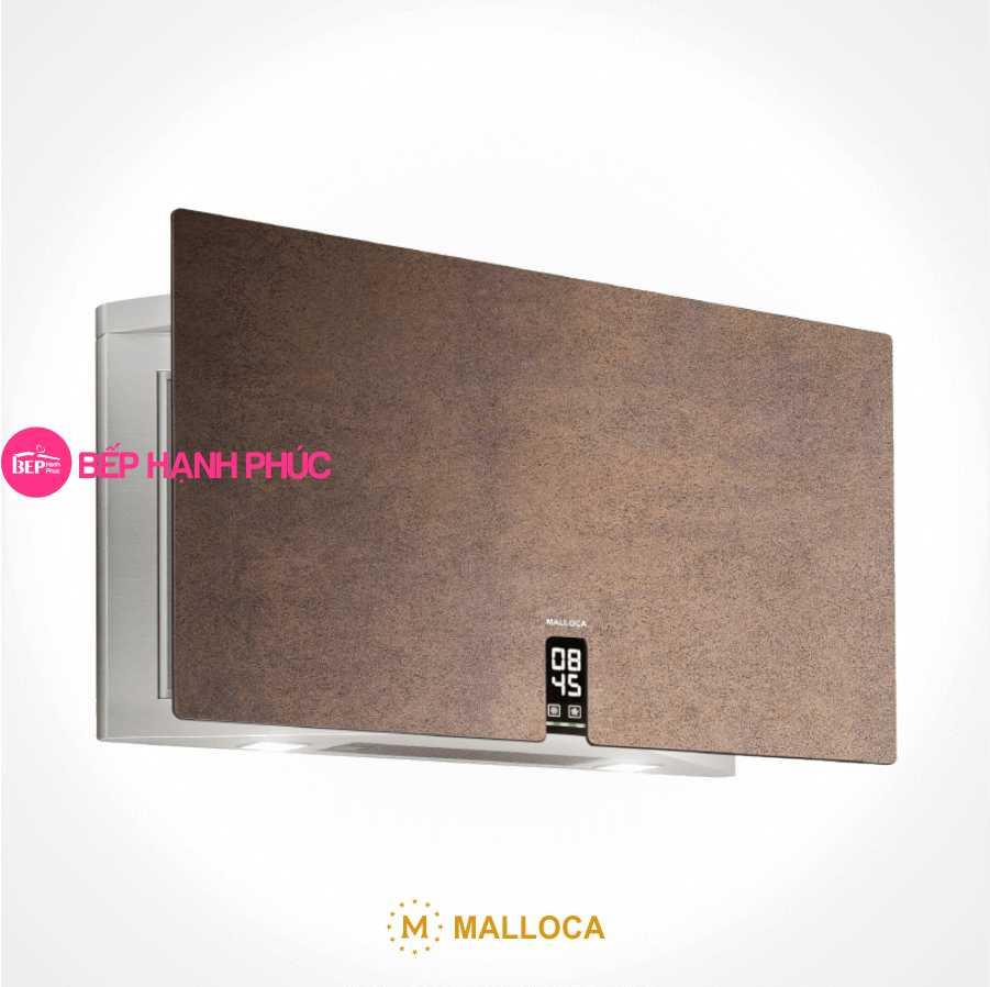 Máy hút mùi Malloca TIME K-16 BRUNO - Áp tường 90cm Ceramic màu sắt gỉ