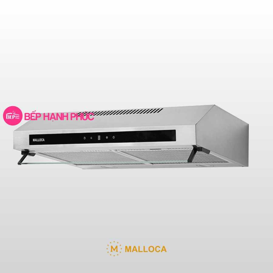 Máy hút mùi Malloca H342.9 TC - Classic 90cm inox mặt kính cảm ứng