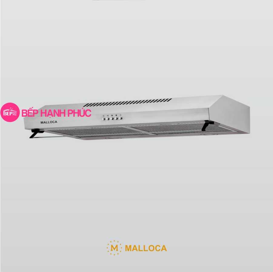 Máy hút mùi Malloca H365.7 - Classic 70cm inox nút nhấn cơ