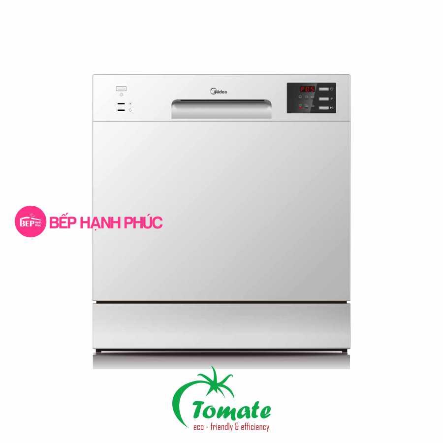 Máy rửa chén Tomate TOM 4301-W08 - Dòng máy mini 8 bộ 6 chương trình