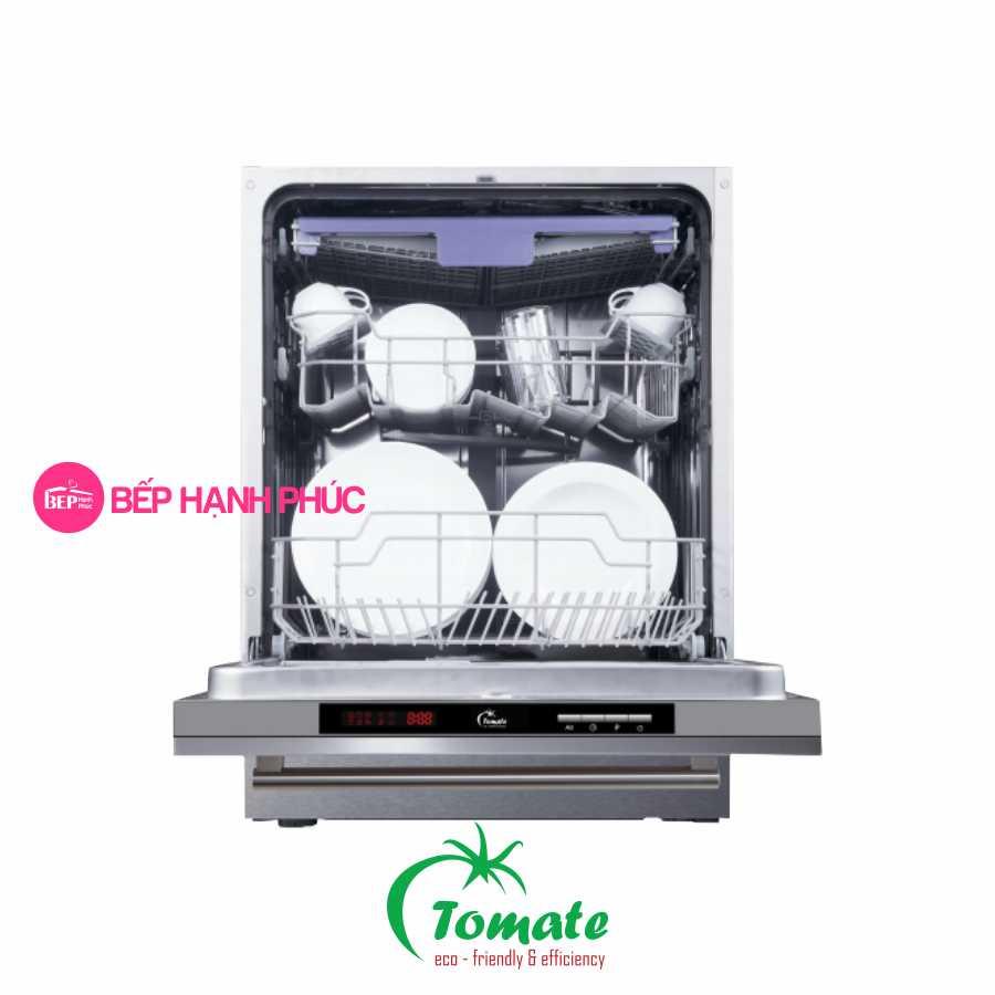 Máy rửa chén Tomate TOM 6014 - Âm tủ toàn phần 14 bộ 6 chương trình