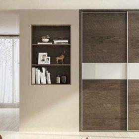 Tủ quần áo cửa kéo Melamine vân gỗ TQA-K-20-01